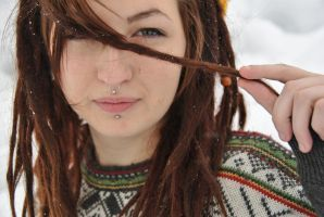 Piercings and Dreadlocks by luftballong