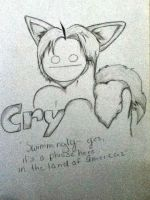 Cry fan art! by raindroplet2448