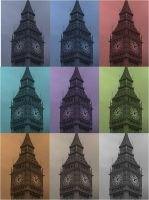Big Ben Multi-Colour by LinaElShamy