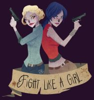 Fight Like a Girl by TheQueenSerena