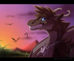 Sora Dragon Grin by Nightrizer