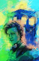 11th Doctor by Sempaiko