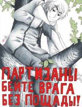 Hetalia WWII Posters- Russia by ItaLuv