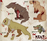 MEAT Character-Map Concept by Some-Art
