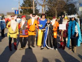 Snowithe and The Seven Dwarfs II by FreakyPhoto