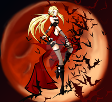 Dancing in the Blood Moon by animeaddict519