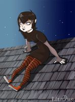 Hotel Transylvania - Mavis on the roof by LunaMiel