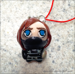Winter Soldier Clay Charm by Comsical