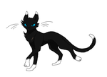 My warrior cat Scarheart by LittleDashie101