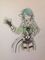 Sinon by faerie8tails