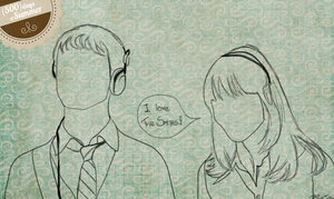 500 days of Summer Sketch by manupaivaellon