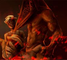 Pyramid Head by ymymy