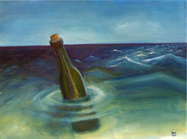 Message in a Bottle by Cornmanthe3rd
