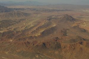 Mountains near Vegas by PatGoltz