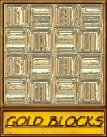 Gold Blocks by allison731