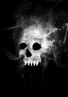 abstract skuLL by Nik-Hill