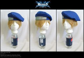 Noel Vermillion Wig and Hat by Serenity-Sama