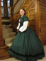1865 Day Dress by calevey