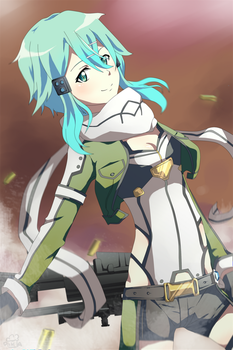 Sinon by Daniimon
