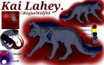 Kai Lahey ref sheet  by RogueWolf44