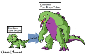 Fakemon: Poison Dragons remake by Brian12