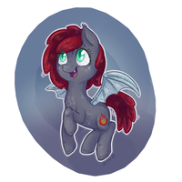 *Skhee* goes the bat-pony! by Keep-Yourself-Alive
