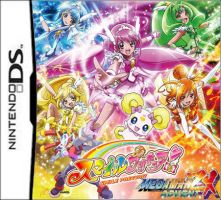 Smile Precure and Megaman ZX Advent DS by isaacyeap