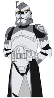 Commander Wolffe. by Sonny007