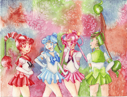 Sailor Quartet by sailortitan