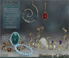 Shades of Earth Materials DAZ by cosmosue