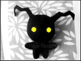 KH: Heartless Plushie by 6oo