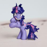 Crazy Twilight MLP Custom Sculpt Blind Bag by alltheApples