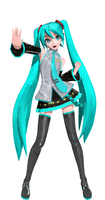 Hatsune miku project diva by Sateraido