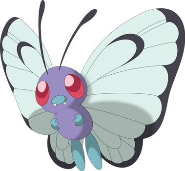 Butterfree by Porygon2z