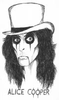 Alice Cooper by kilroyart