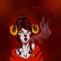Damara by spidr8itch