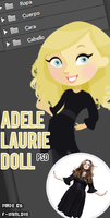 Adele Laurie Doll .PSD by F-Iminlove