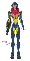 Samus Aran Omega Suit (Fusion) by D-Arm