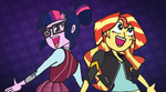Sunset Shimmer and twilight more out there by SiopaoNinja