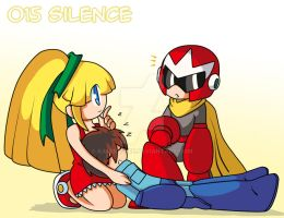 015 - Silence by Kamira-Exe