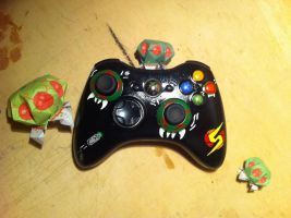 Metroid-XBOX Controller2 by urfer-art