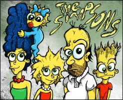 The Simpsons by metalandy