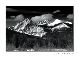 Winter In The Rockies by kkart