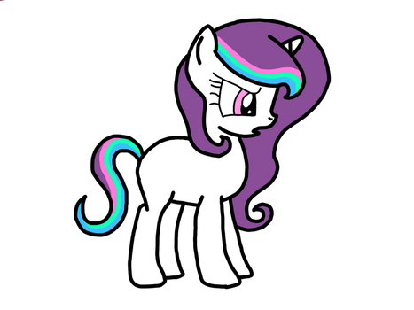 Breeding Grid Result Celestia X Rarity by Furry-stylist