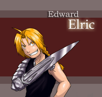 Edward Elric by Lizzy23