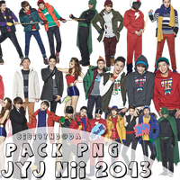 Pack PNG JYJ NII Winter 2013 by bibi97nd