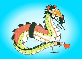 Sushi Dragon by Nashiil