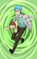 Rick and Morty by whymeiy