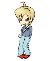 Asher in Chibi form by Carthaginian