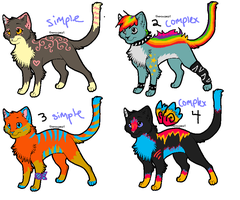 Adoptables 2 ONE LEFT by starbleach